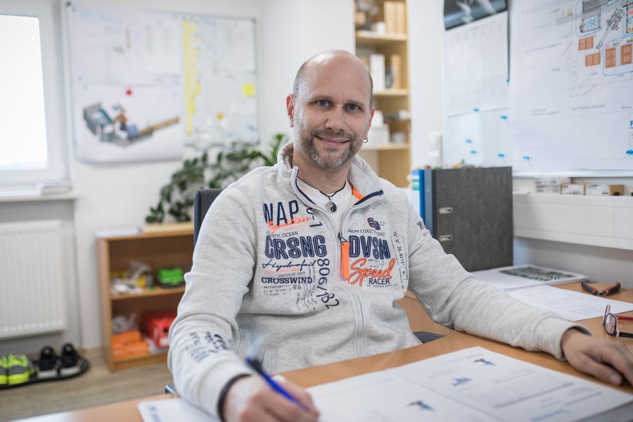Mitarbeiter Heiko Löhner - Leiter Elektrokonstruktion