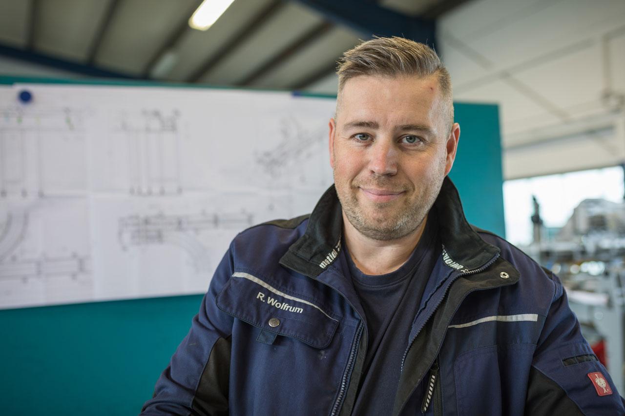 Mitarbeiter Rüdiger Wolfrum - Stellv. Werkstattleiter