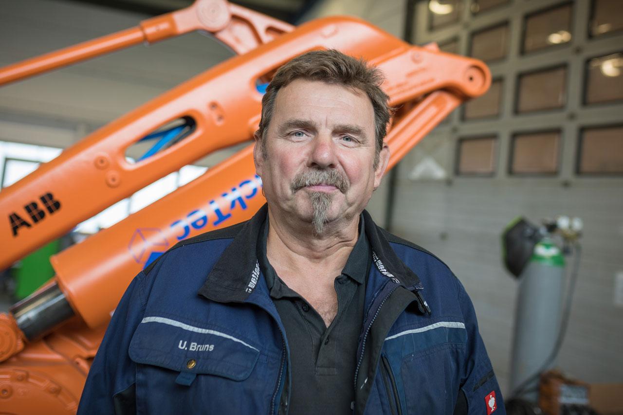 Mitarbeiter Uwe Bruns - Servicetechniker