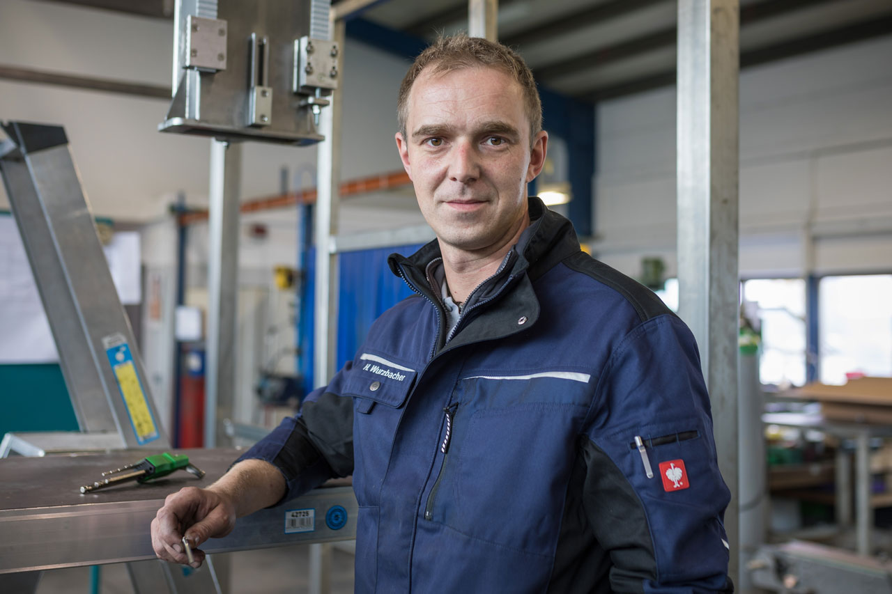 Mitarbeiter Holger Wurzbacher - Servicetechniker