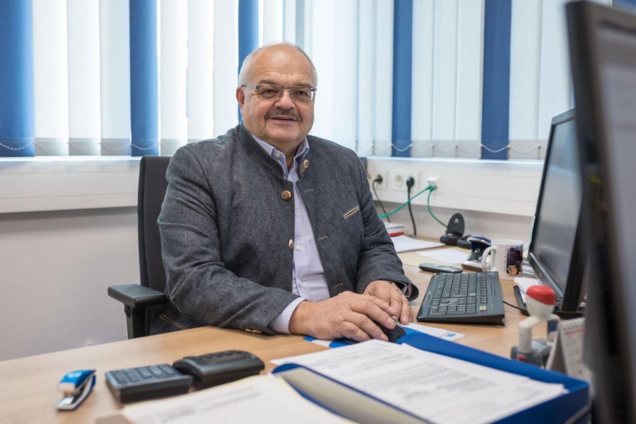 Geschäftsführer Manfred Schiposch