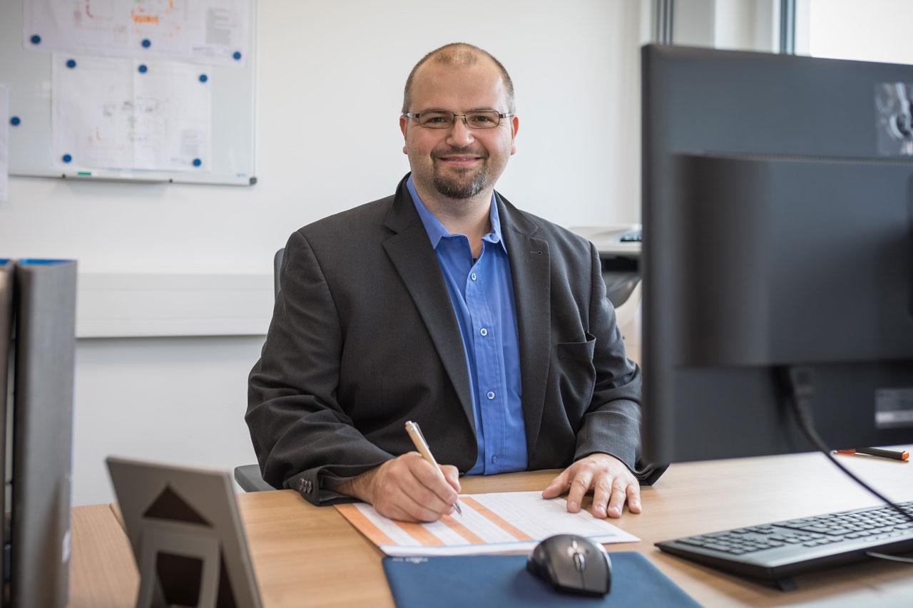 Mitarbeiter Thorsten Schiposch - Konstruktionsleiter