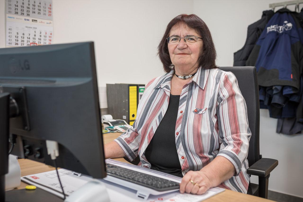 Mitarbeiterin Gerdi Schiposch - Buchhaltung