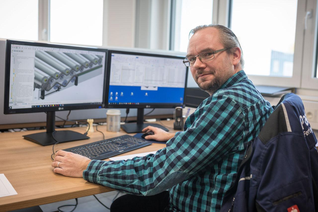 Mitarbeiter Mathias Peschel - Konstruktion