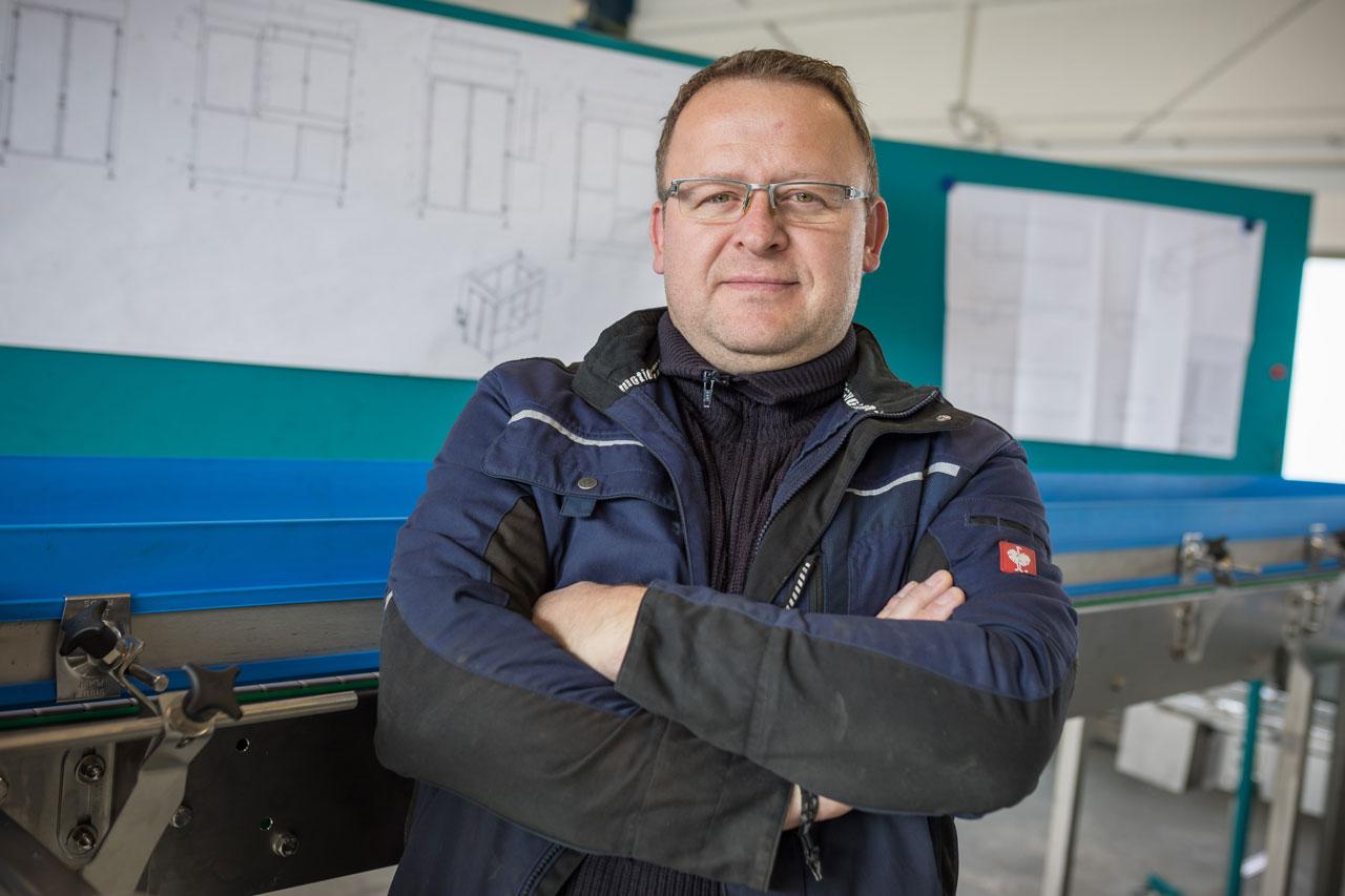Mitarbeiter Jochen Weitermann - Werkstattleiter