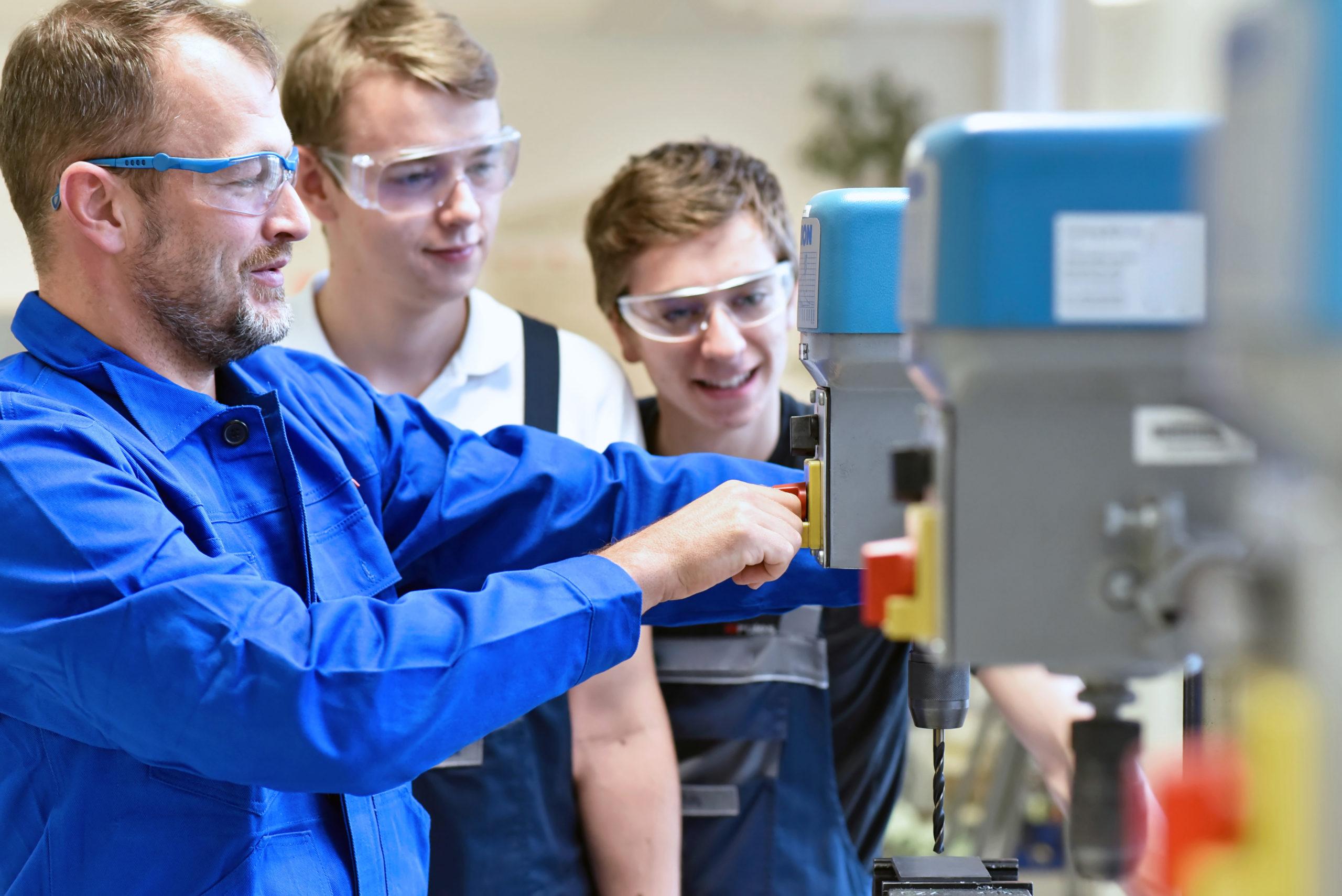 Ausbildung Industriemechaniker