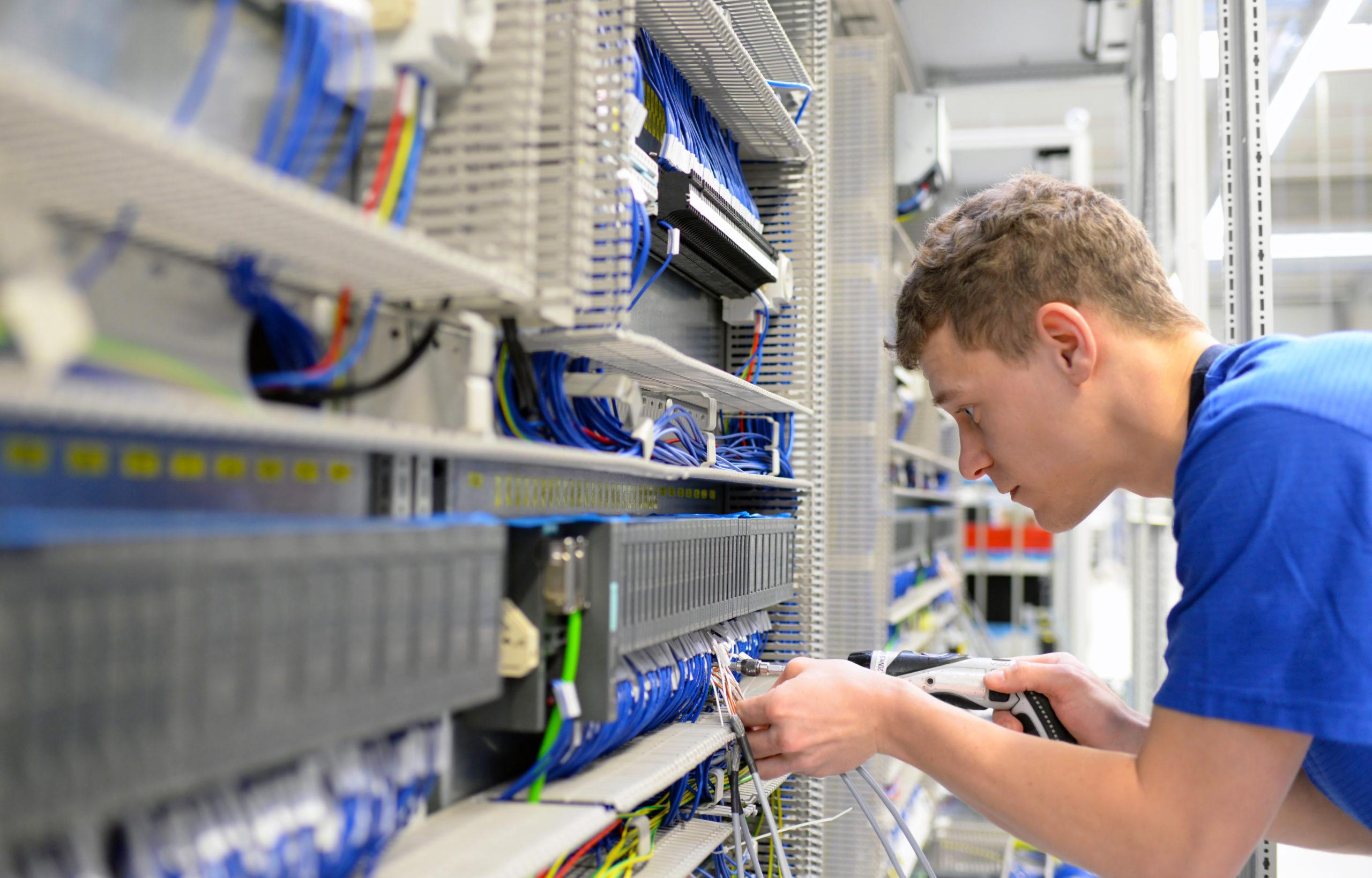 Stellenangebot Elektroniker für Automatisierungstechnik