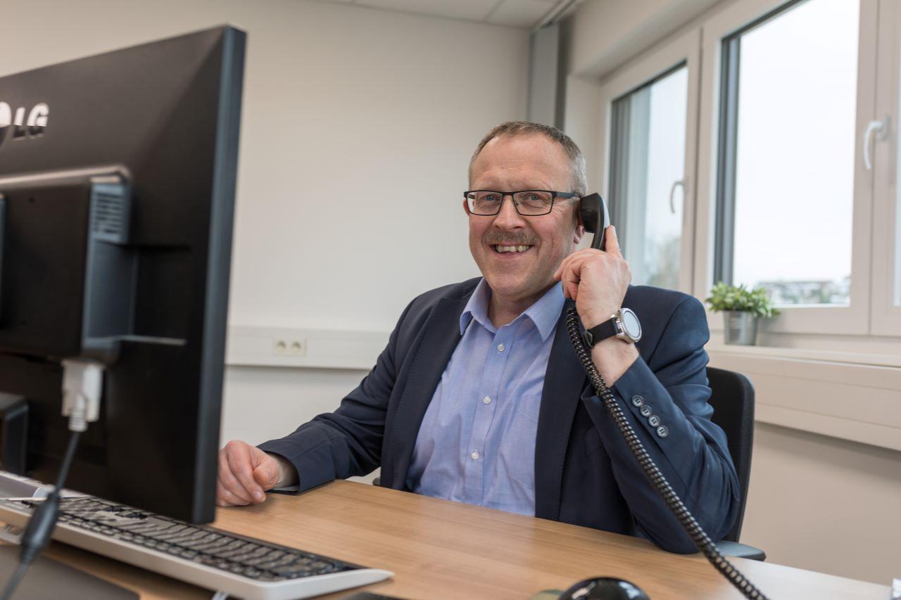Mitarbeiter Wolfgang Fleischer - Vertriebsleiter